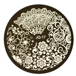 1 sztuk HOT wzory kwiat kobiety polski tłoczenie do paznokci szablony Sexy piękno obrazu do zdobienia paznokci płyty szablony do