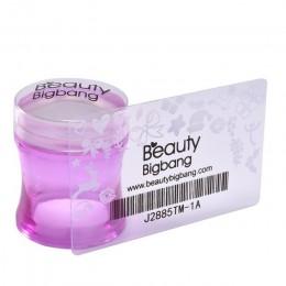 BeautyBigBang paznokci tłoczenia płyty zestawy stempel do skrobak do paznokci wyczyść galaretki kwiat uchwyt do zdobienia paznok
