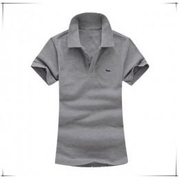 2018 nowy lato na co dzień stałe Harmont 100% bawełniane koszulki kobiety koszulka oddychająca hafty słodkie slim fit blaine kos