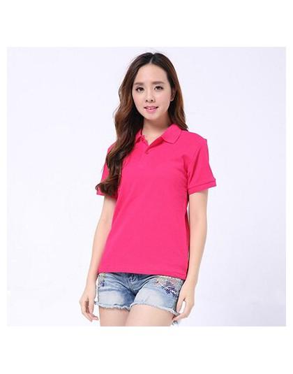 Koszulka polo damska koszula bawełna camisa koszulka polo z krótkim rękawem lato zwykły koszule top polo femme dorywczo stałe ko