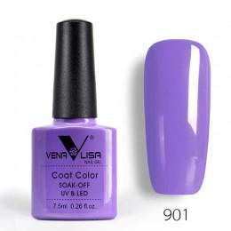 Nowy darmowa wysyłka do paznokci projekt Manicure Venalisa 60 kolor 7.5 Ml lakierowany lakier do paznokci żel polski żel UV laki