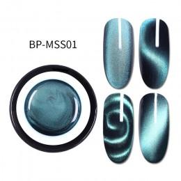 Urodzony dość 5D żel do paznokci Cat 5 ml magnetyczny lakier do paznokci UV lakiery żelowe gwiaździste niebo Jade efekt lakier c