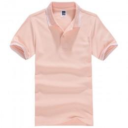 2019 pani w paski kołnierz z krótkim rękawem koszulka POLO kobiet wiosna lato Plus rozmiar cienkie bawełniane luźne na co dzień