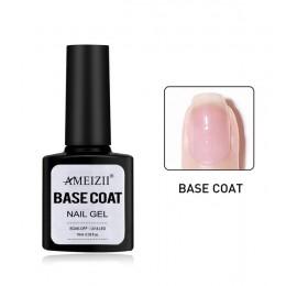 AMEIZII Top bazowy Soak Off żel lakier do paznokci UV do paznokci LED podkład budowniczy paznokci żel lakier przezroczysty lakie