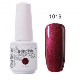 Clou Beaute 85 kolorowy żelowy lakier do paznokci brokat lakier UV do paznokci lakier do paznokci lakier do paznokci różowe 8 ml