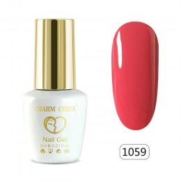 Charm Chica żelowy lakier do paznokci UV 6 ml Nude różowy lakier żelowy kolorowy lakier do paznokci lakier do paznokci lakier do