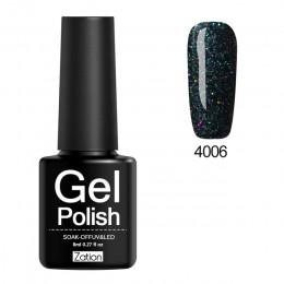 Zation Neon Pigment naklejki świecące świeci żelowy lakier do paznokci baza i Top potrzebne paznokci malowanie Manicure dekoracj