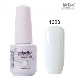 Arte Clavo 85 kolorowy żelowy lakier do paznokci LED żel UV do paznokci lakier do paznokci żelowy lakier do paznokci brokat 8 ML