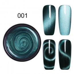 LEMOOC 5 ml magnetyczny 5D kota żel lakier do paznokci gwiaździste niebo Jade efekt UV lakier do paznokci manicure lakier do paz