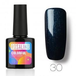 ROSALIND 10 ml żelowy lakier do paznokci UV kolorowy żel do paznokci dla lakier do paznokci Vernis Semi Permanent akryl żel hybr