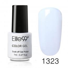 Elite99 7 ml czystego lakier do paznokci żel kolorowy Top lakier bazowy należy trwały żel UV LED lakiery Soak Off Gelpolish laki