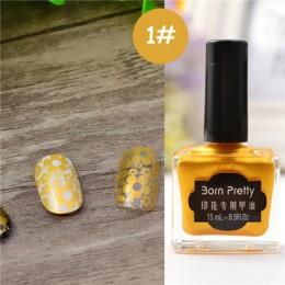 Urodzony doświadczenie 15 ml/6 ml cukierki paznokci kolorowe paznokcie Art tłoczenia polski słodki styl lakier do paznokci polsk