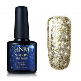 HNM 10 ML Starry Bling paznokci polski lakier Semi Permanent lakier Gelpolish 30 kolory Starry Bling tłoczenia DIY Nail Art