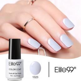 Elite99 do paznokci projekt Manicure czysty kolor 7 ML żel polski LED żel UV lakier do paznokci