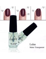 LULAA 1 sztuk matowy lakier do paznokci OilMagic Super przezroczysty żel do paznokci matowe powierzchni lakier do paznokci 6 ML