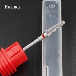 ERUIKA 13 typ paznokcie ceramiczne wiertła maszyna do Manicure akcesoria obrotowe elektryczne pilniki do paznokci Manicure nóż d