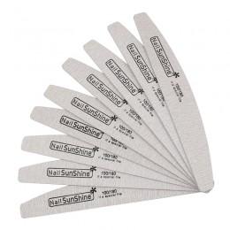 7 sztuk/partia drewniane pilniki do paznokci do Manicure 100/180 silne gruby papier ścierny szlifowanie paznokci jest twój plik