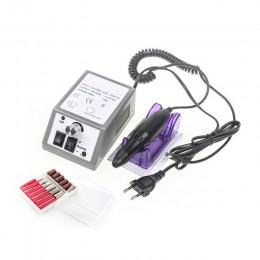 Elektryczny zestaw do manicure'u z frezarką do paznokci jest twój plik szary pilnik do paznokci pióro maszyna zestaw zestaw z ue