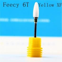 Frez do Manicure ceramiczne wiertarko-frezarka Bit młyn do frez do Manicure Bit do maszyna elektryczna frez Manicure FLY6T