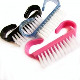 10 sztuka Hot już dziś, do czyszczenia paznokci czyste pędzel jest twój plik Manicure Pedicure miękkie usuń kurz mały kąt jasne