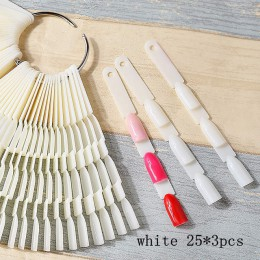 150 kolor bambusa paleta paleta narzędzia do paznokci płyta wyświetlacza trzy w jednym lakier do paznokci swatch 350