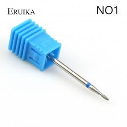 ERUIKA 29 rodzaje diament obracać do paznokci wiertła elektryczne frezowanie Burr skórek Clean frez do maszyna do manicure pilni