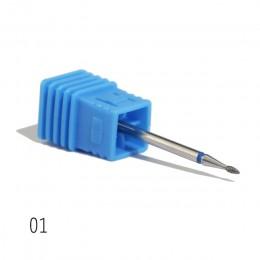 1 sztuk diamentowe wiertła do paznokci frezowania wiertła do paznokci skórek Cutter dla Manicure pilników do paznokci elektryczn