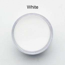 3 kolory akrylowe kryształ w proszku do paznokci polimeru porady Builder różowy jasny biały akrylowy puder do paznokci manicure