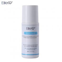 Elite99 akrylowe płynny Monomer fałszywe tipsy akrylowe Art 80 ml Salon narzędzie do Manicure do paznokci do akrylu proszek pył