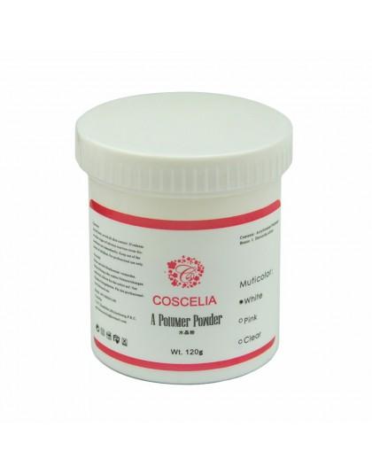 Akrylowego systemu przezroczysty różowy biały proszek akrylowy do paznokci akrylowy brokat w proszku pyłu żel UV projekt dekorac